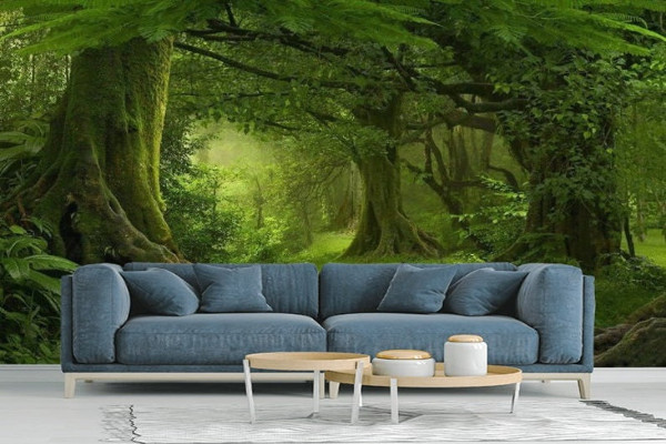 Fairytale Forest Landscape Wall Mural